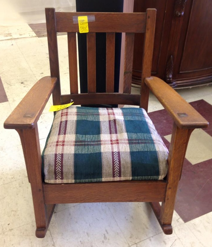 Stickley rocking chair